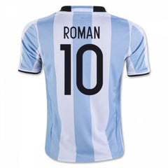 Argentina 2016 Home Jersey Roman Riquelme #10 - IN STOCK NOW - TNT Soccer Shop