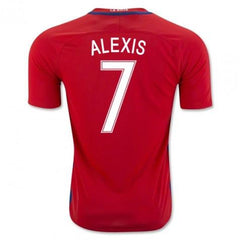 Chile 2016 Home Jersey Alexis #7 Jersey TNT Soccer Shop
