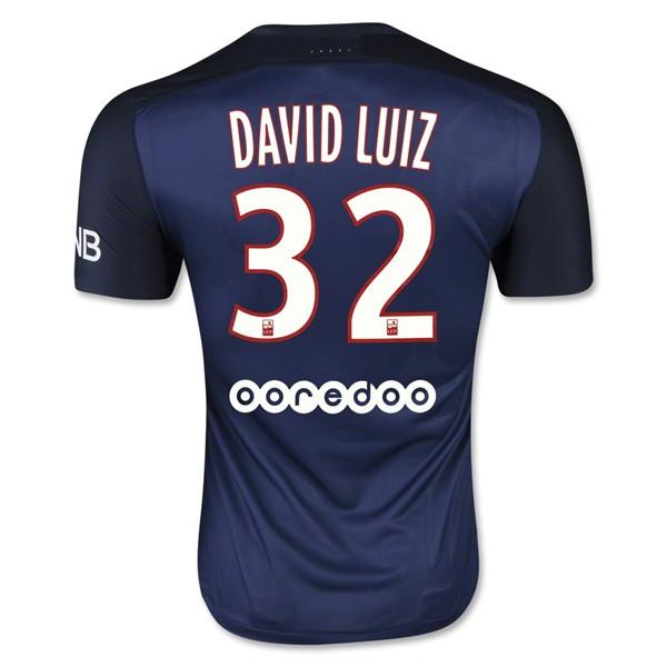 Paris Saint Germain 15-16 Home Jersey David Luiz #32 READY TO SHIP! - IN STOCK NOW - TNT Soccer Shop