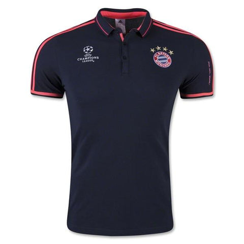 Bayern Munich 15-16 Champions Polo READY TO SHIP! - IN STOCK NOW - TNT Soccer Shop