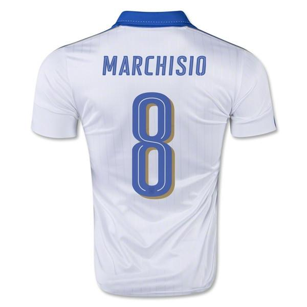 Italy 2016 Away Jersey Marchisio #8 Jersey TNT Soccer Shop