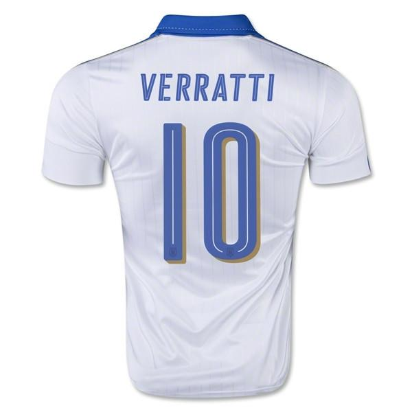 Italy 2016 Away Jersey Verratti #10 - IN STOCK NOW - TNT Soccer Shop