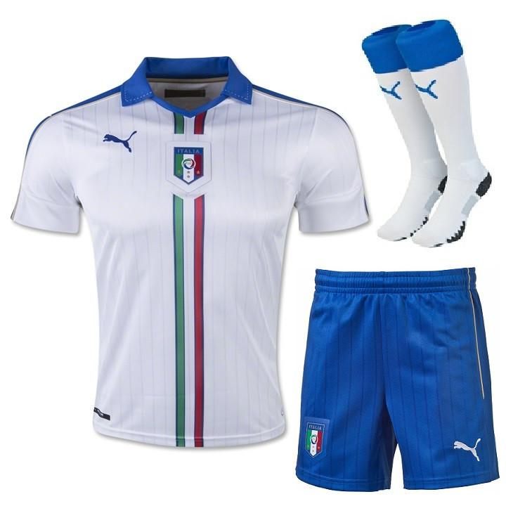 Italy 2016 Away Full Kit - IN STOCK NOW - TNT Soccer Shop