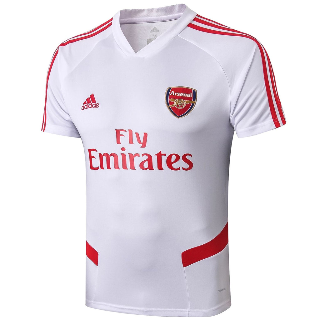 Arsenal 19/20 White Pre-Match Training Jersey Training Jerseys TNT Soccer Shop