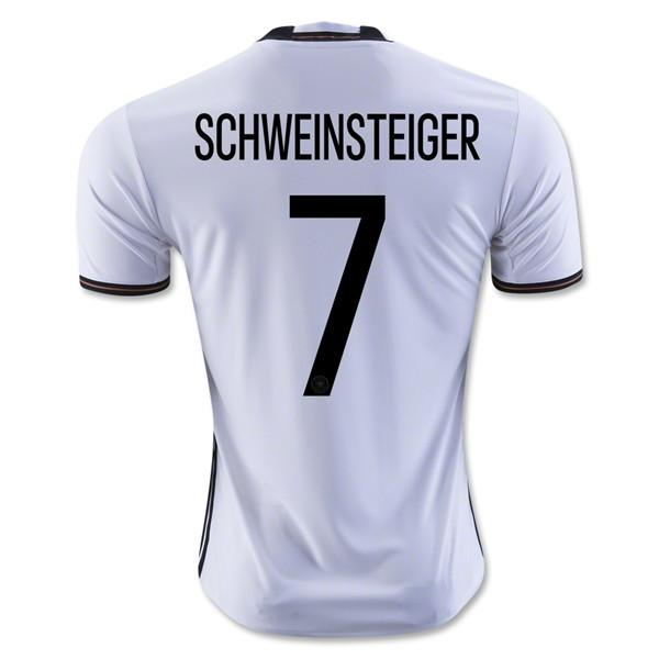 Germany 2016 Home Jersey Schweinsteiger #7 - IN STOCK NOW - TNT Soccer Shop
