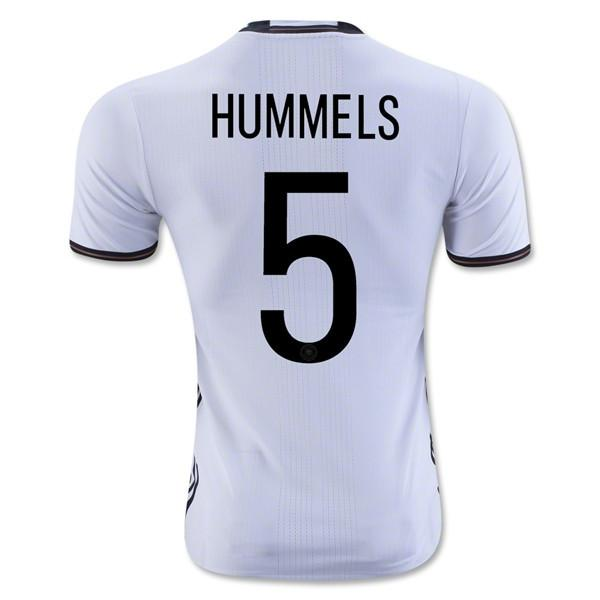 Germany 2016 Home Jersey Hummels #5 - IN STOCK NOW - TNT Soccer Shop