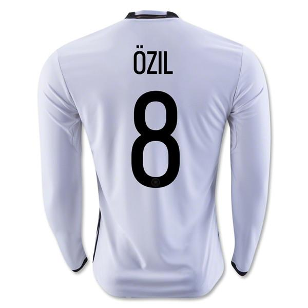 Germany 2016 Home LS Jersey Özil #8 READY TO SHIP! Long Sleeve Jersey TNT Soccer Shop