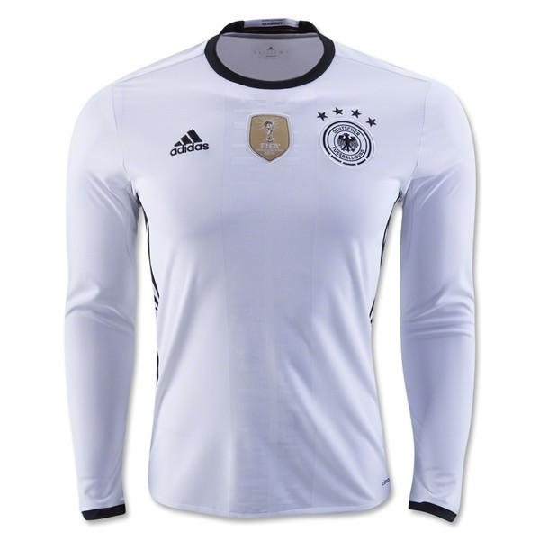 Germany 2016 Home LS Jersey Long Sleeve Jersey TNT Soccer Shop