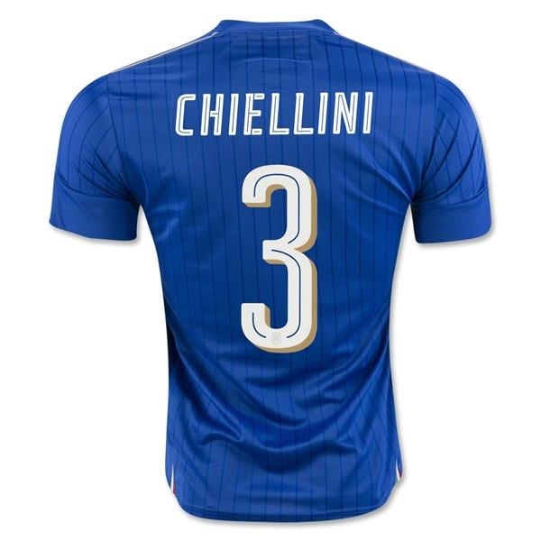 Italy 2016 Home Jersey Chiellini #3 - IN STOCK NOW - TNT Soccer Shop