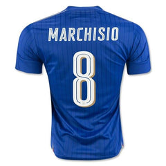 Italy 2016 Home Jersey Marchisio #8 - IN STOCK NOW - TNT Soccer Shop