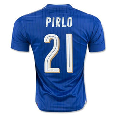 Italy 2016 Home Jersey Pirlo #21 - IN STOCK NOW - TNT Soccer Shop