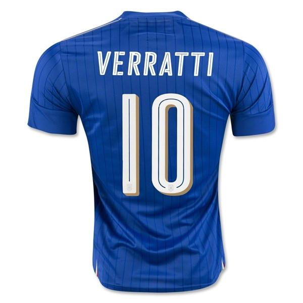 Italy 2016 Home Jersey Verratti #10 - IN STOCK NOW - TNT Soccer Shop