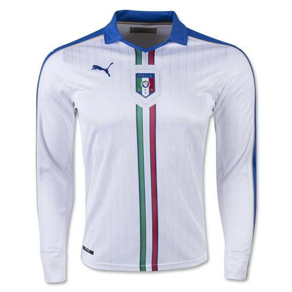 Italy 2016 Away Long Sleeve Jersey - IN STOCK NOW - TNT Soccer Shop