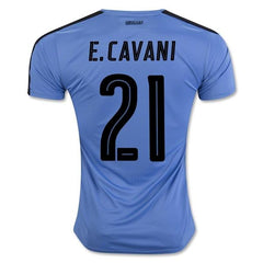 Uruguay 2016 Home Jersey Cavani #21 - IN STOCK NOW - TNT Soccer Shop