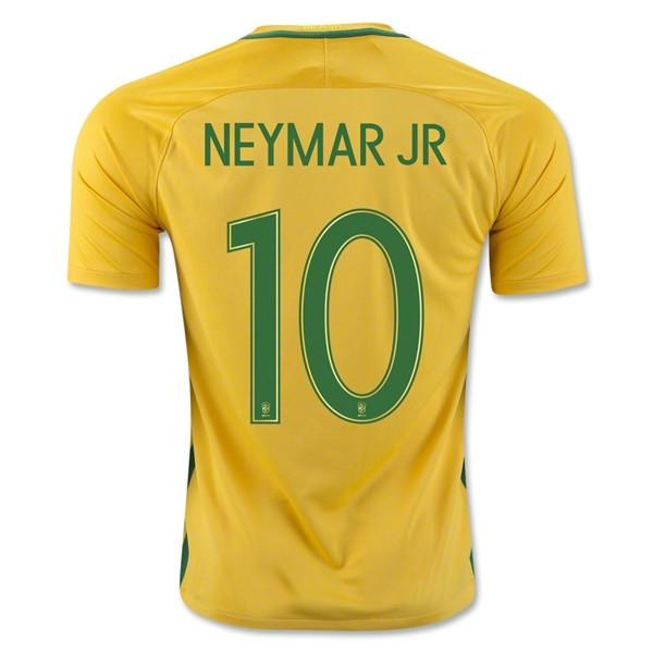 ce4ea93e76c Brazil 2016 Home Jersey Neymar Jr. #10 - IN STOCK NOW - TNT Soccer