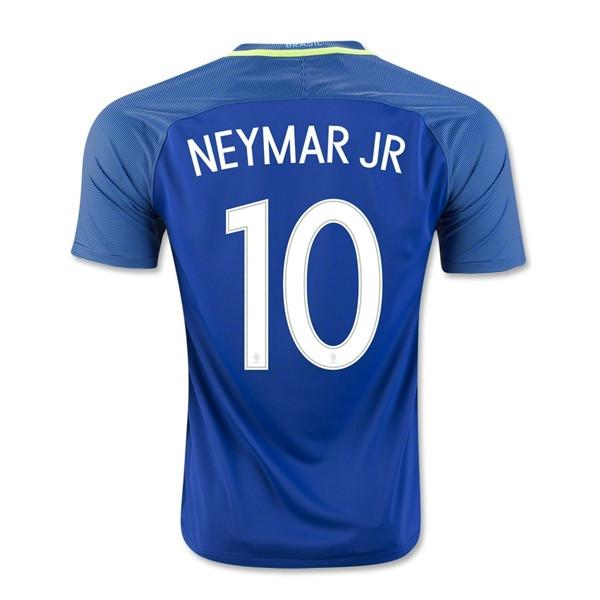 69019b8514f Brazil 2016 Away Jersey Neymar Jr. #10 - IN STOCK NOW - TNT Soccer