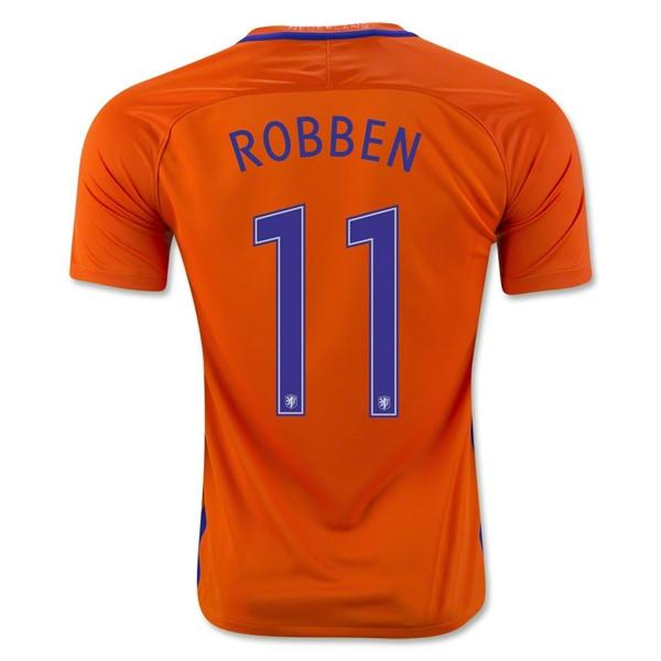 lowest price b1d45 1a8af Netherlands 2016 Home Jersey Robben #11