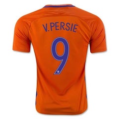 Netherlands 2016 Home Jersey Van Persie #9 - IN STOCK NOW - TNT Soccer Shop