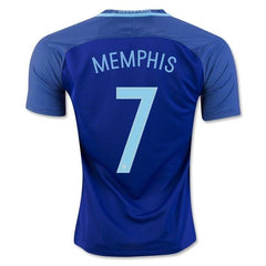 Netherlands 2016 Away Jersey Memphis #7 - IN STOCK NOW - TNT Soccer Shop