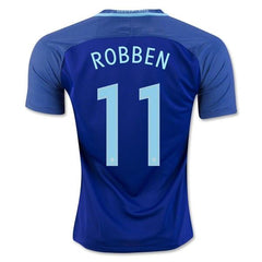 Netherlands 2016 Away Jersey Robben #11 - IN STOCK NOW - TNT Soccer Shop