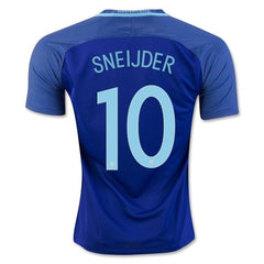 Netherlands 2016 Away Jersey Sneijder #10 - IN STOCK NOW - TNT Soccer Shop