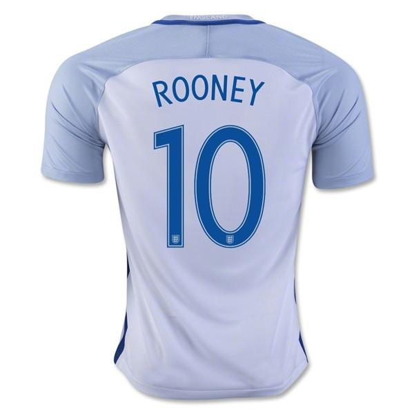 England 2016 Home Jersey Rooney #10 - IN STOCK NOW - TNT Soccer Shop