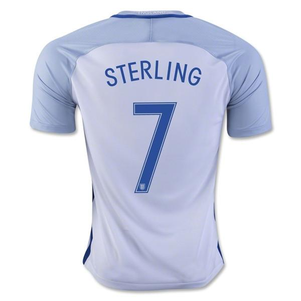 England 2016 Home Jersey Sterling #7 Jersey TNT Soccer Shop