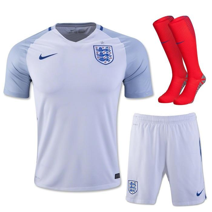 size 40 b2a65 f538f England 2016 Home Full Kit