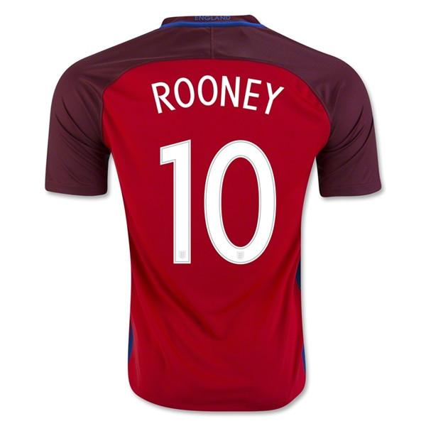 England 2016 Away Jersey Rooney #10 - IN STOCK NOW - TNT Soccer Shop