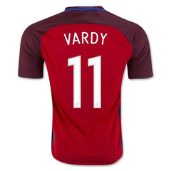 England 2016 Away Jersey Vardy #11 - IN STOCK NOW - TNT Soccer Shop