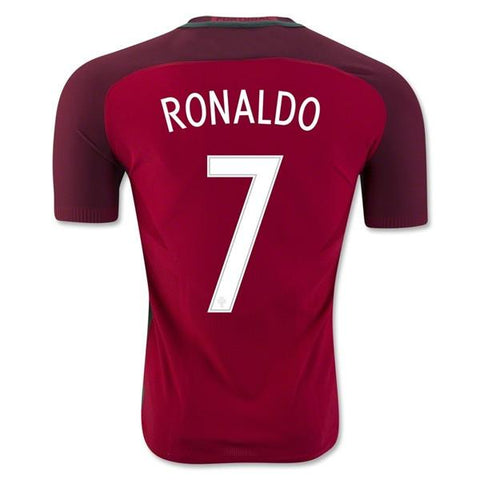 Portugal 2016 Home Jersey Cristiano Ronaldo #7 - IN STOCK NOW - TNT Soccer Shop