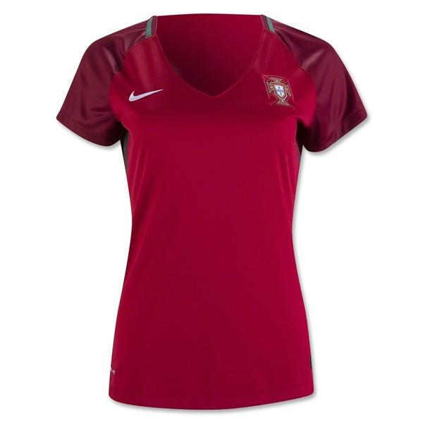 Portugal 2016 Home Women's Jersey - IN STOCK NOW - TNT Soccer Shop