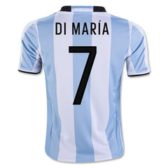 Argentina 2016 Home Jersey Di Maria #7 - IN STOCK NOW - TNT Soccer Shop