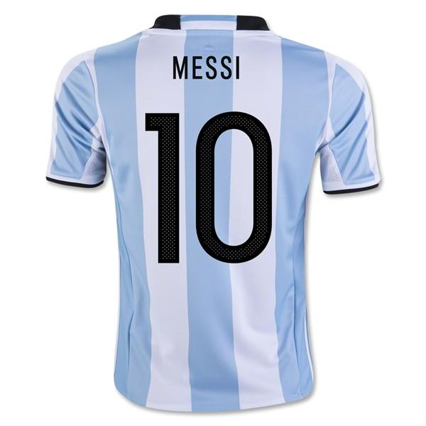625770c0535 Argentina 2016 Home Jersey Messi  10 - IN STOCK NOW - TNT Soccer Shop