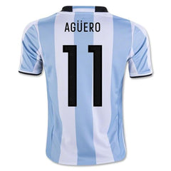 Argentina 2016 Home Jersey Kun Agüero #11 - IN STOCK NOW - TNT Soccer Shop
