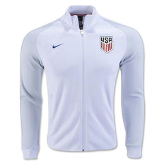 USA 16-17 White N98 Track Jacket READY TO SHIP! Jacket TNT Soccer Shop