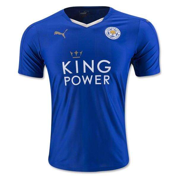 Leicester City 15-16 Home Jersey - IN STOCK NOW - TNT Soccer Shop
