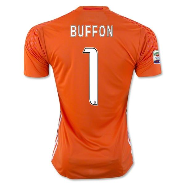 Juventus 16/17 Goalkeeper Jersey Buffon #1 READY TO SHIP! - IN STOCK NOW - TNT Soccer Shop