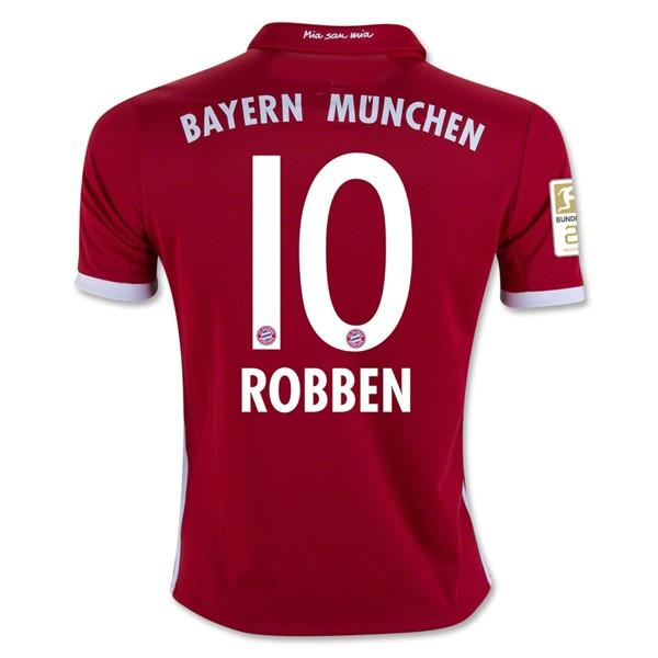 Bayern Munich 16/17 Home Jersey Robben #10 - IN STOCK NOW - TNT Soccer Shop