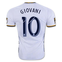 L.A Galaxy 16/17 Home Jersey Giovani #10 READY TO SHIP! Jersey TNT Soccer Shop