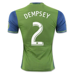 Seattle Sounders 16-17 Home Jersey Dempsey #2 Jersey TNT Soccer Shop