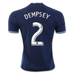 Seattle Sounders 16-17 Third Jersey Dempsey #2 Jersey TNT Soccer Shop