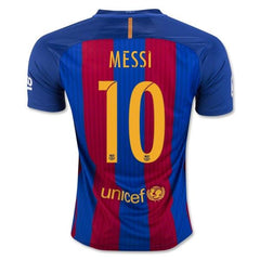 Barcelona 16/17 Home Jersey Messi #10 Ready to Ship! Jersey TNT Soccer Shop