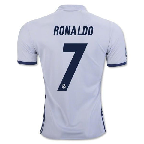 Real Madrid 16/17 Home Jersey Ronaldo #7 - IN STOCK NOW - TNT Soccer Shop