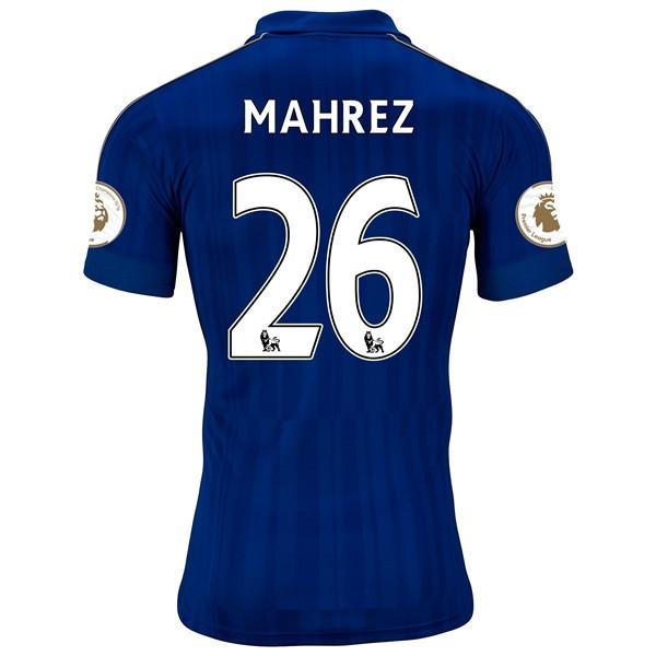 Leicester City 16/17 Home Jersey Mahrez UCL patch KIT #26 READY TO SHIP! Jersey TNT Soccer Shop