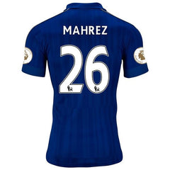 Leicester City 16/17 Home Jersey Mahrez UCL patch KIT #26 READY TO SHIP! - IN STOCK NOW - TNT Soccer Shop