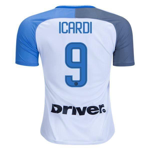 lowest price 46f43 a1659 Inter Milan 17/18 Away Jersey Icardi #9