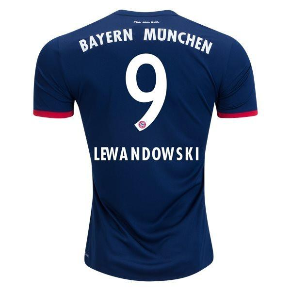 Bayern Munich 17/18 Away Jersey Lewandowski #9 Jersey TNT Soccer Shop