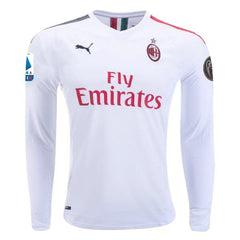 AC Milan 19/20 Away LS Jersey Personalized Jersey TNT Soccer Shop