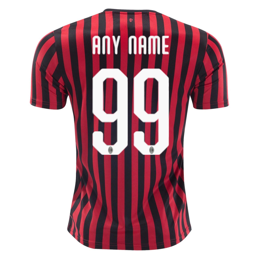 Ac Milan 19 20 Home Jersey Personalized Tnt Soccer Shop